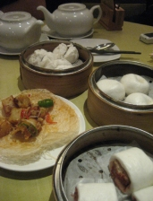 Just a glimpse of one of our dim sum spreads.