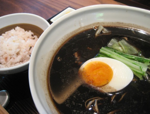 Burnt shoyu ramen at Gogyo.