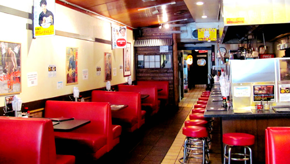 Inside Daikokuya, Little Tokyo, Los Angeles